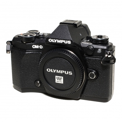 Used Olympus OM-D E-M5 MkII body, black