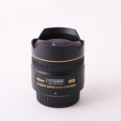 Used Nikon AF 10.5mm f2.8 G ED Fisheye