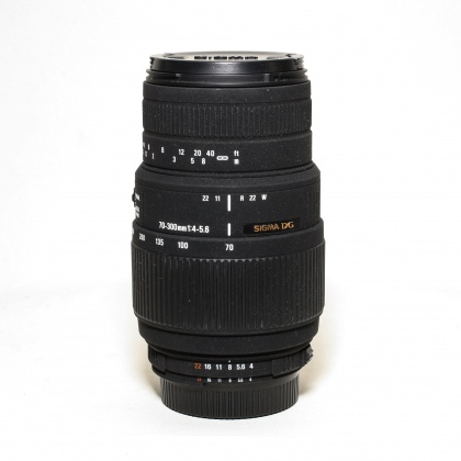 Used Sigma 70-300mm f4-5.6 DG Macro for Nikon AF