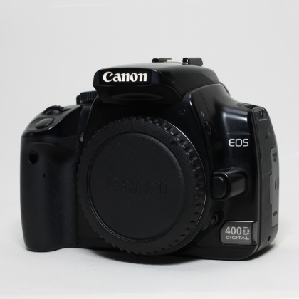 Used Canon EOS 400D body with Battery Grip