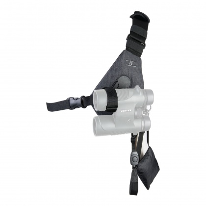Cotton Carrier Binocular Harness SKOUT grey