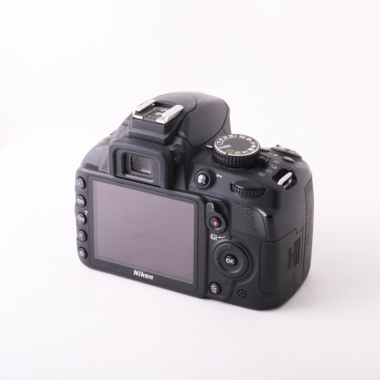 Used Nikon D3100 body with Grip