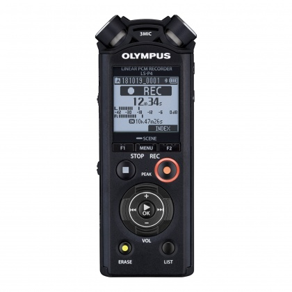 Olympus LS-P4 Linear PCM Recorder, Video Kit