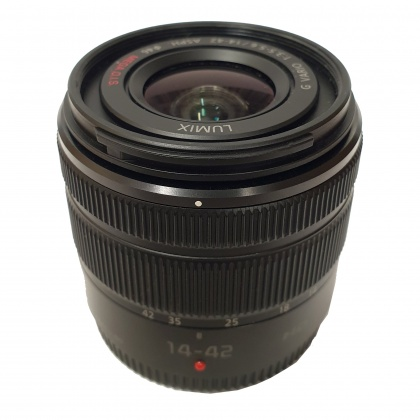 Used Panasonic 14-42mm f3.5-5.6 MEGA II O.I.S. HD