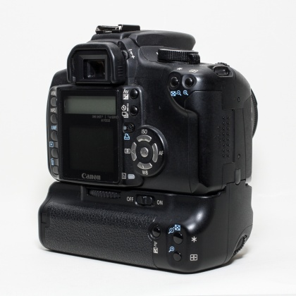 Used Canon EOS 350D, 18-55 and Grip