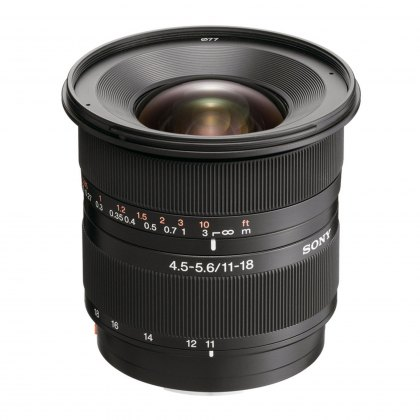 Sony DSLR Lens, 11-18mm f4.5-5.6 (D)