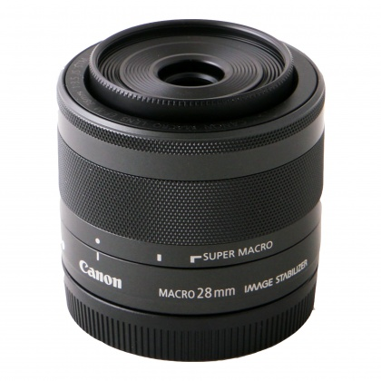 Used Canon EF-M 28mm f3.5 IS STM Macro
