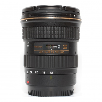 Used Tokina 12-28mm f4 Pro DX for Canon EOS