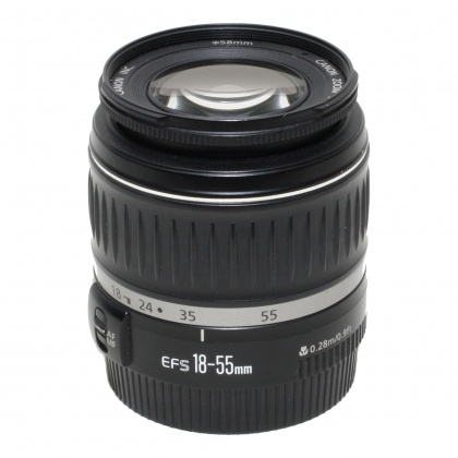 Used Canon EF-S 18-55mm f3.5-5.6 Mk II