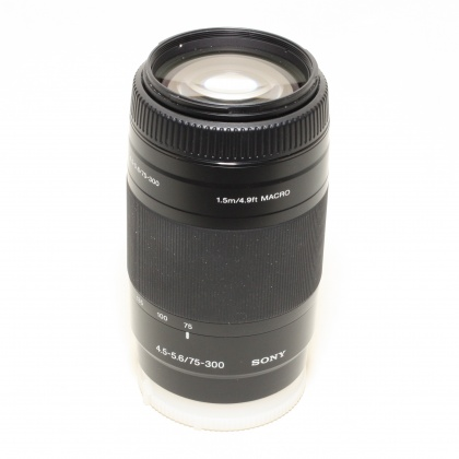 Used Sony 75-300mm f4.5-5.6 for A mount