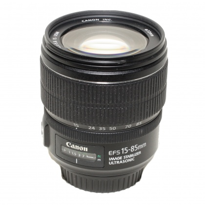 Used Canon EF-S 15-85mm f3.5-5.6 IS
