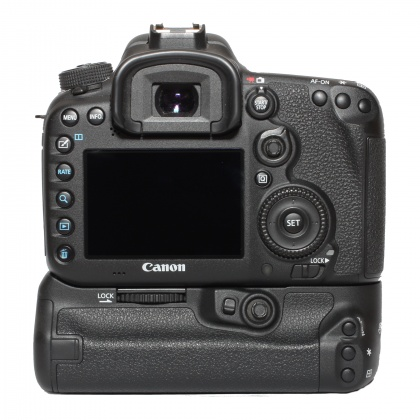 Used Canon EOS 7D Mk II body with Battery Grip