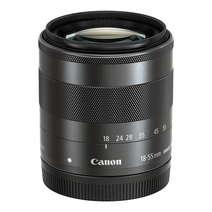 Canon EF-M 18-55mm f3.5-5.6 IS STM in plain box