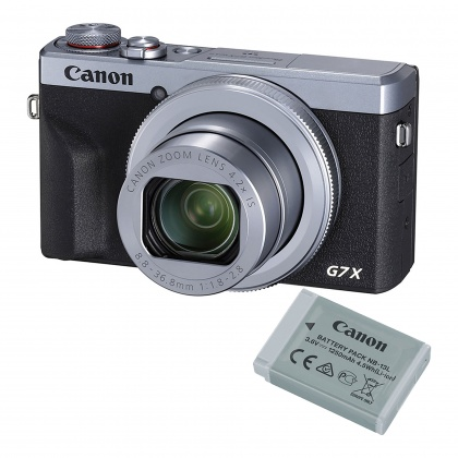 Canon PowerShot G7 X Mark III Battery Kit, Silver