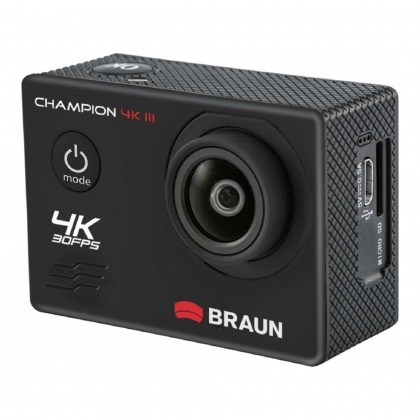 Braun  Photo Technik Champion 4K III Action Cam, black
