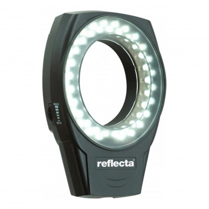 Reflecta LED Ringlight RRL49, Makro, Black