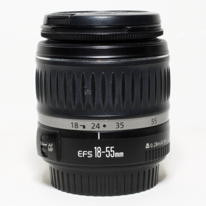 Used Canon EF-S 18-55mm f3.5-5.6 MkII