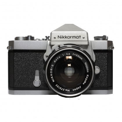 Used Nikon Nikkormat FT with 35mm f2.8