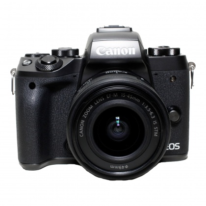 Used Canon EOS M5, 14-45mm IS STM
