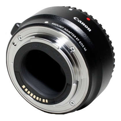 Used Canon Mount Adapter EF-EOS M lens for Canon CSC