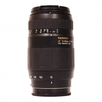 Used Tamron 75-300mm f4-5.6 for Sony A Mount
