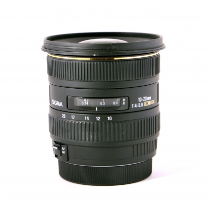 Used Sigma 10-20mm f4-5.6 EX DC for Canon EOS