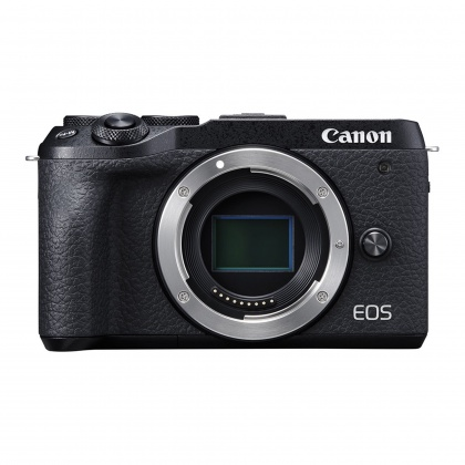 Canon EOS M6 Mark II Body Only, Black