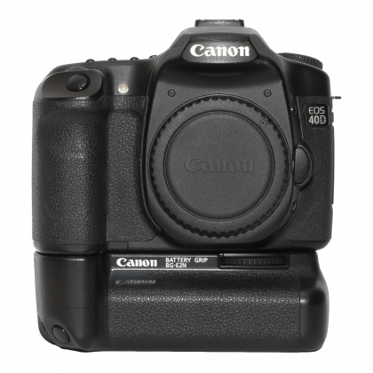 Used Canon EOS 40D body with Battery Grip