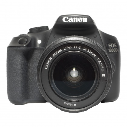 Used Canon EOS 1300D, 18-55 III