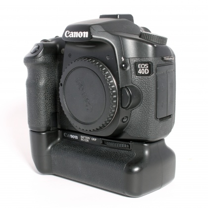 Used Canon EOS 40D body with BG-E2N Battery Grip