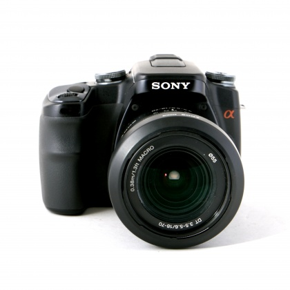 Used Sony A100 with 18-70mm  and 80-200mm