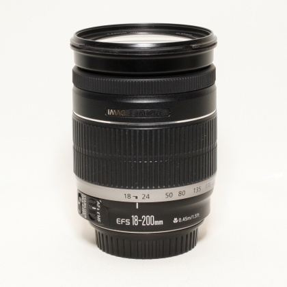 Used Canon EF-S 18-200 f3.5-5.6 IS