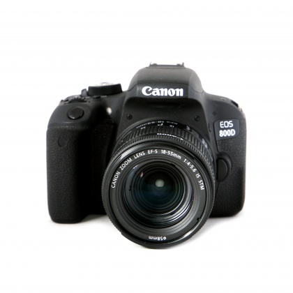 Used Canon EOS 800D, 18-55 IS STM