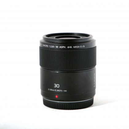 Used Panasonic 30mm f2.8 Macro