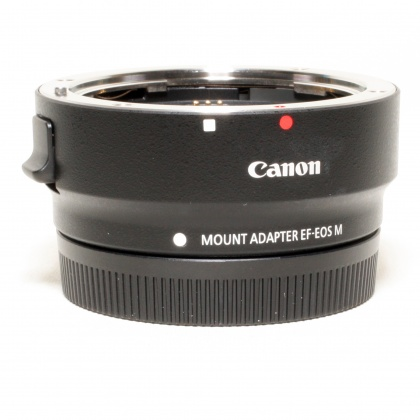 Used Canon EF-EOS M Mount Adapter