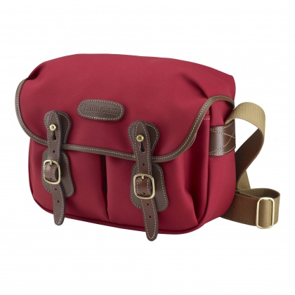 Billingham Hadley Small, Burgundy / Chocolate Trim