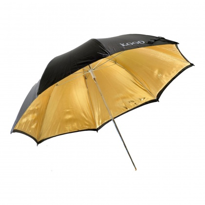 Kood 36in Umbrella - Gold/Black