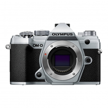 Olympus E-M5 Mark III Mirrorless Camera with 12-40mm Pro Lens, Silver