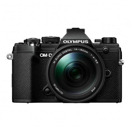 Olympus E-M5 Mark III Mirrorless Camera with 14-150mm lens, Black