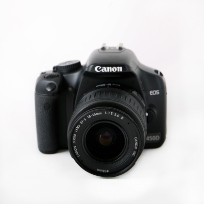 Used Canon EOS 450D, 18-55