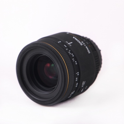 Used Sigma 50mm f2.8 DG Macro for Nikon AF
