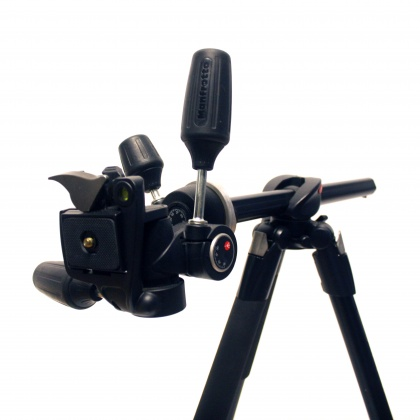 Used Manfrotto 190x PROB 804 RC2 Head