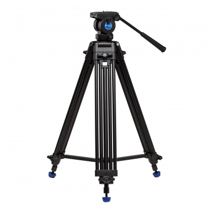 Benro Aluminium Dual-Tube 3-section Tripod with K5 Video Head