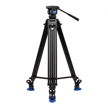 Benro Aluminium Dual-Tube 3-section Tall Tripod with K5 Video Head