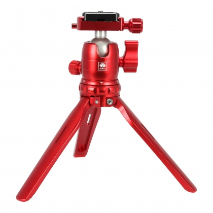 Sirui 3T-15 Table Top Tripod with B-00K head, Red