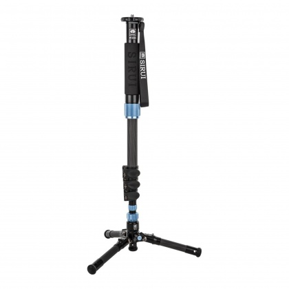 Sirui EP-224S Carbon Monopod with stand