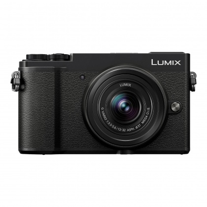 Panasonic Lumix DC-GX9 Mirrorless Camera, black with 12-32 F3.5-5.6 ASPH P OIS lens