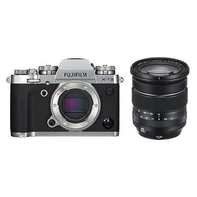 Fujifilm X-T3 Kit with XF 16-80mm lens, Silver