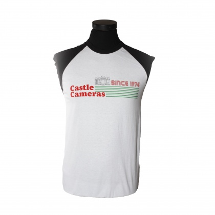 Castle Short-Sleeved Retro T-Shirt, XXL