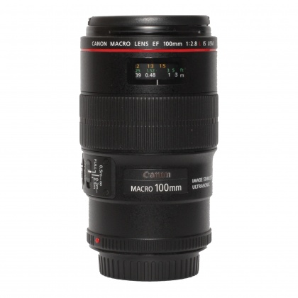 Used Canon EF 100mm f2.8 L IS USM Macro